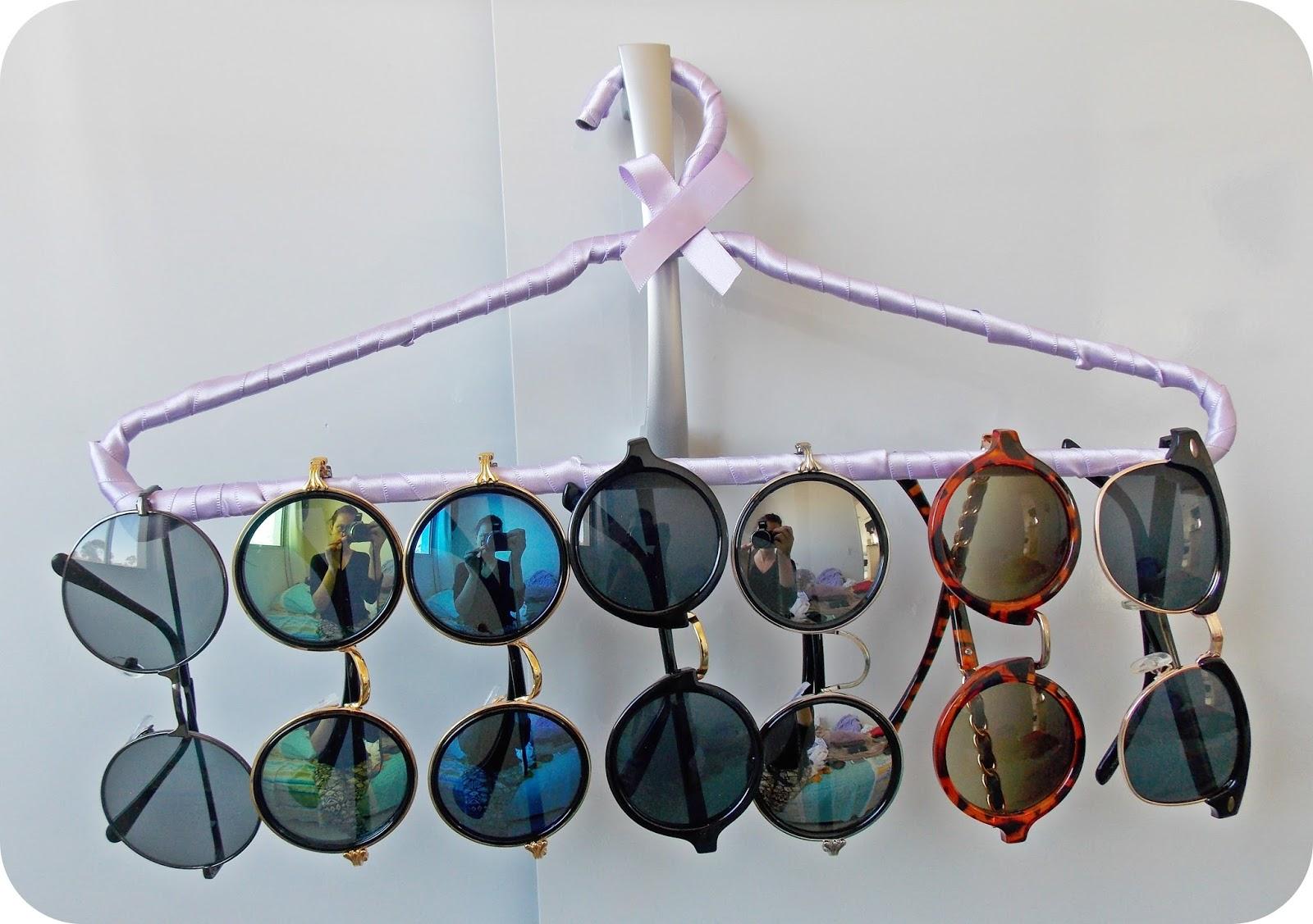 457bdf8a0 Aprendendo a fazer um porta óculos com Cabide | Graviola