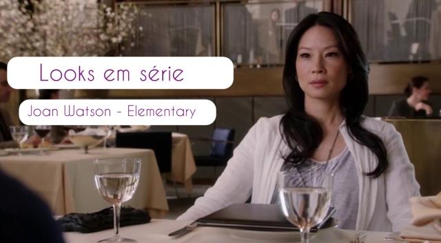 Serie Elementary looks em serie joan watson elementary graviola